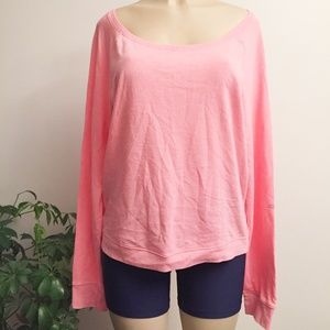 VS PINK lace Back Sweatshirt WY419